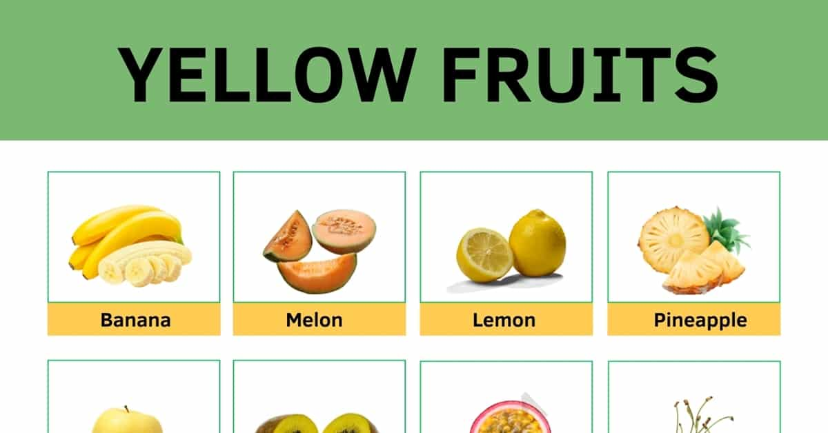 Yellow Fruit: List of Yellow Fruits with Useful Facts and Pictures 1